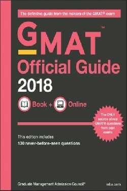 GMAT OFFICIAL GUIDE 2018 BOOK+ONLINE | 9781119387473 | GRADUATE MANAGEMENT ADMISSION COUNCIL