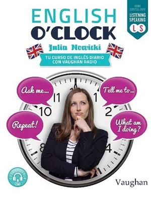 ENGLISH O'CLOCK | 9788416667338 | JULIA NOWICKI