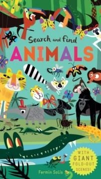 SEARCH AND FIND ANIMALS | 9781848575097 | FERMIN SOLIS