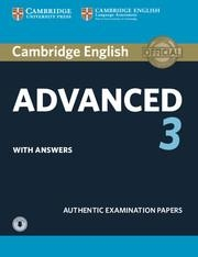 CAE CAMBRIDGE CAE PRACTICE TESTS 3 SB+KEY+AUDIO | 9781108431224