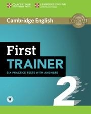 FC TRAINER FIRST 2 BK WITH KEY/DOWNLOAD AUDIO | 9781108525480