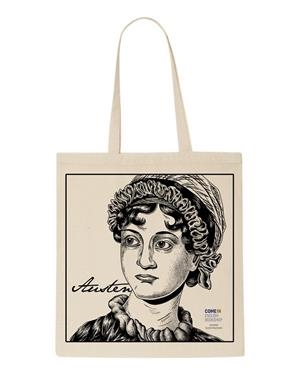 TOTE BAG JANE AUSTEN COME IN | 9999990003317