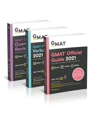 GMAT OFFICIAL GUIDE 2021 BUNDLE | 9781119689652 | GMAC